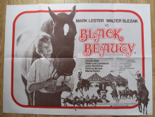 Black Beauty (1971) Film Poster Mark Lester (Grey Style)- UK Quad